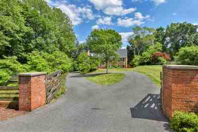 Charlottesville Single Family Home For Sale: 2714 Northfield Rd