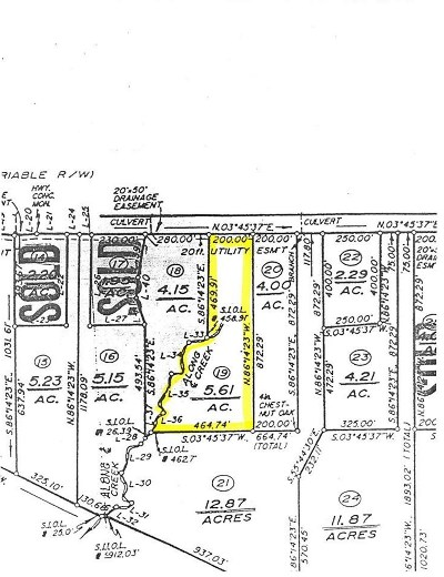 Lots & Land For Sale: Lot 19 S Constitution Rte