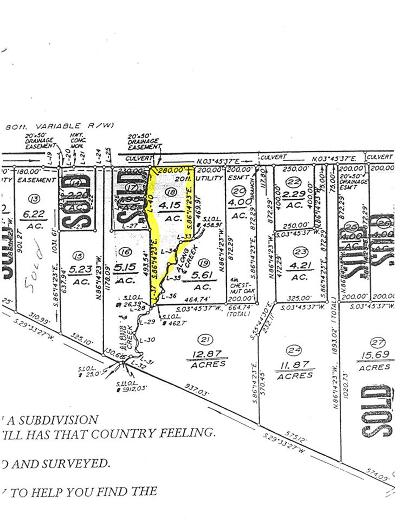 Buckingham County Lots & Land For Sale: Lot 18 S Constitution Rte
