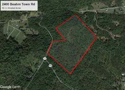 Lots & Land For Sale: 2400 Beahm Town Rd