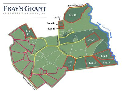 Albemarle County Lots & Land For Sale: 16 Frays Ridge Xing