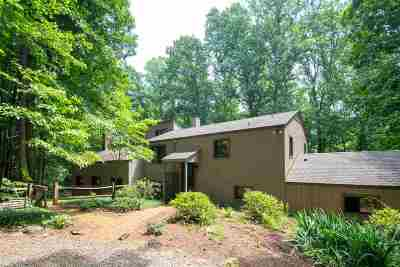 Charlottesville Single Family Home For Sale: 460 Rocky Hollow Rd
