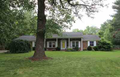 Elkton Single Family Home For Sale: 1572 Island Ford Rd