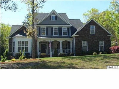 Albemarle County Single Family Home For Sale: 3420 Foxwood Dr