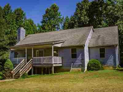 Scottsville Single Family Home For Sale: 1453 Ruritan Lake Rd