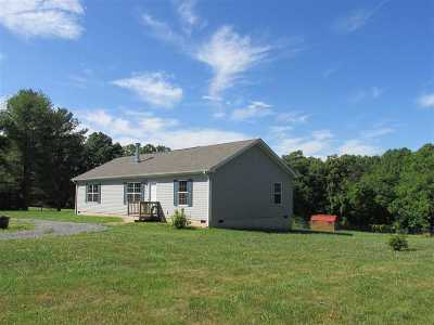 Single Family Home For Sale: 292 Carpenters Mill Rd
