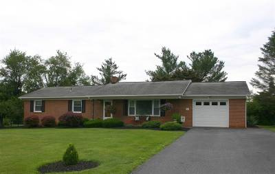 Augusta County, Rockingham County Single Family Home For Sale: 55 Bluestone Dr