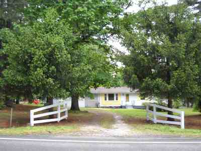 Buckingham County Single Family Home For Sale: 26735 N James Madison Hwy