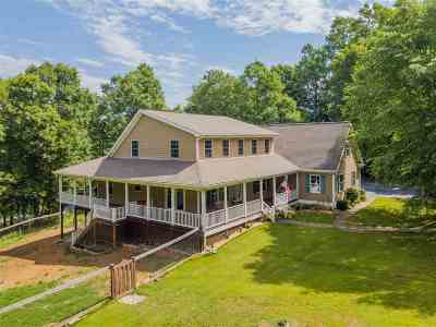 Scottsville Single Family Home For Sale: 103 Mallard Ln