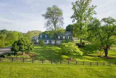 Charlottesville Single Family Home For Sale: 985 Barracks Farm Rd