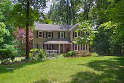 Charlottesville Single Family Home For Sale: 215 Walnut Ln