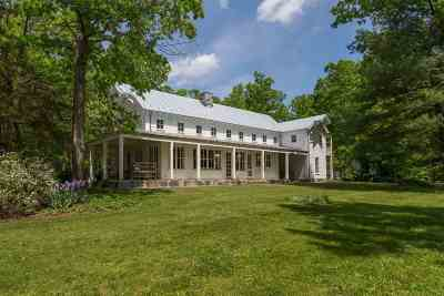Scottsville VA Single Family Home For Sale: $1,875,000