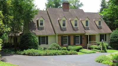 Charlottesville  Single Family Home For Sale: 126 Bollingwood Rd