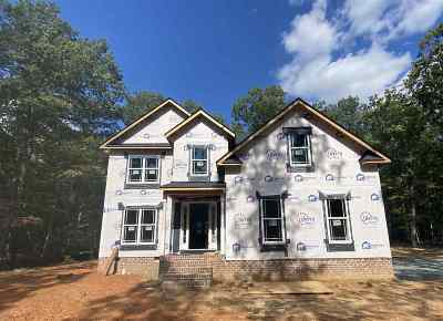 Louisa County Single Family Home For Sale: Lot 52 Pine Crest Dr