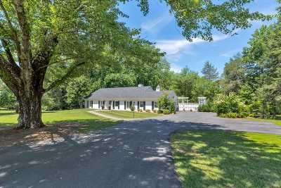 Albemarle County Single Family Home For Sale: 205 Montvue Dr