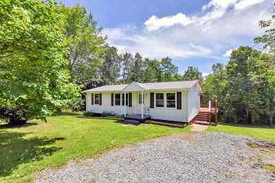 Albemarle County Single Family Home For Sale: 6977 Secretarys Sand Rd