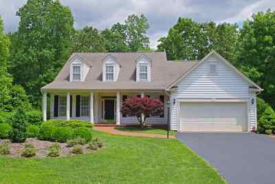 Charlottesville VA Single Family Home For Sale: $550,000