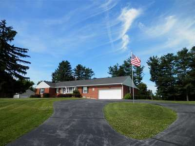 Augusta County, Rockingham County Single Family Home For Sale: 55 Aero Dr