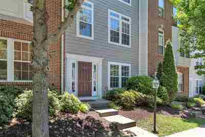 Charlottesville Townhome For Sale: 922 Rainier Rd