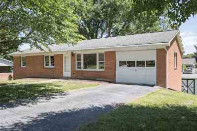 Harrisonburg Single Family Home For Sale: 310 Cedar St