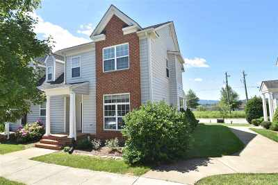 Albemarle County Townhome For Sale: 2440 Bargamin Orchard Ln
