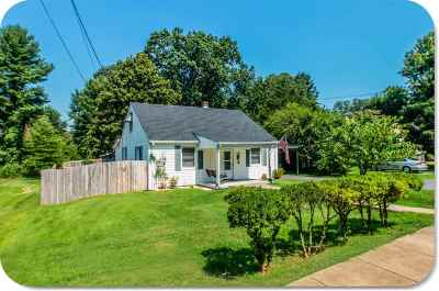 Charlottesville Single Family Home For Sale: 1017 Birdwood Rd