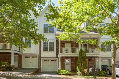 Charlottesville Townhome For Sale: 123 Old Fifth Cir