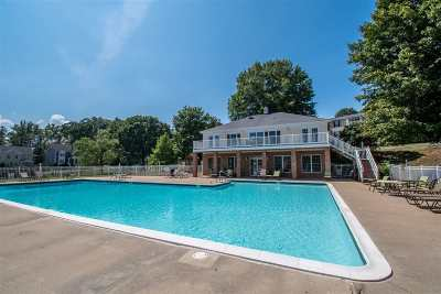 Charlottesville Townhome For Sale: 1356 Villa Way #A