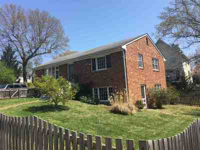 Charlottesville Single Family Home For Sale: 1208 Cutler Ln