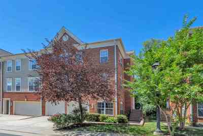 Charlottesville Townhome For Sale: 1012 Glenwood Station Ln