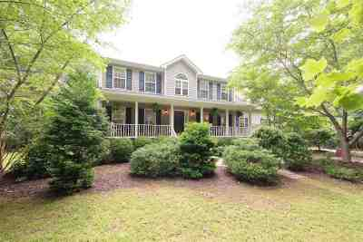 Fluvanna County Single Family Home For Sale: 59 Fox Trot Ln