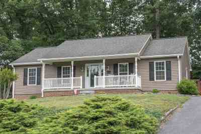 Harrisonburg Single Family Home For Sale: 1022 Bridle Ct