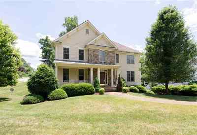 Charlottesville Single Family Home For Sale: 1733 Monet Hill