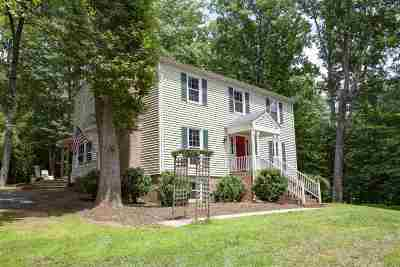Charlottesville Single Family Home For Sale: 600 Carrsbrook Dr