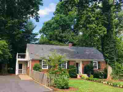 Charlottesville VA Single Family Home For Sale: $700,000
