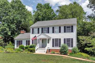 Charlottesville VA Single Family Home For Sale: $394,000