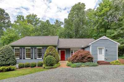 Charlottesville VA Single Family Home For Sale: $495,000