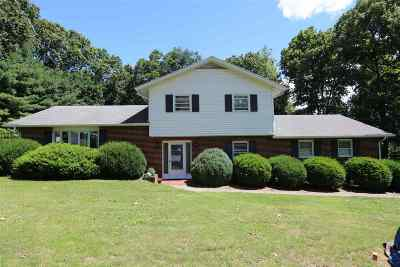 Staunton Single Family Home For Sale: 349 Miller Farm Rd