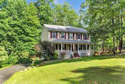 Fluvanna County Single Family Home For Sale: 64 Lafayette Dr