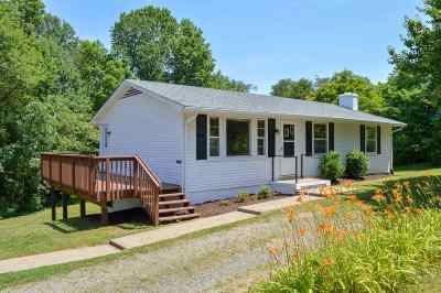 Single Family Home For Sale: 1235 Matthew Mill Rd