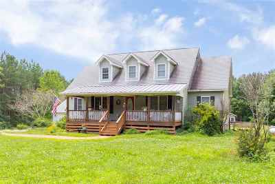 Scottsville Single Family Home For Sale: 5540 Rolling Rd