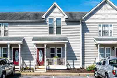 Harrisonburg Townhome For Sale: 1250 Victorian Village Dr