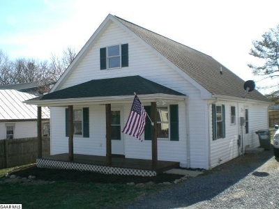 Augusta County, Rockingham County Single Family Home For Sale: 21 Reed St