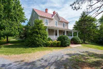 Staunton Single Family Home For Sale: 163 Pleasant View Rd