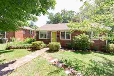 Charlottesville Single Family Home For Sale: 2410 Sunset Rd