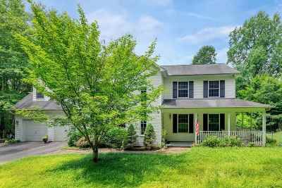Earlysville Single Family Home For Sale: 5880 Buck Ridge Rd