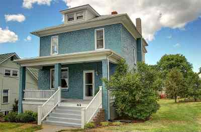 Harrisonburg Single Family Home For Sale: 464 W Wolfe St
