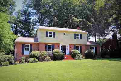 Charlottesville Single Family Home For Sale: 504 Berwick Ct