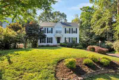 Charlottesville Single Family Home For Sale: 1177 River Chase Rdg
