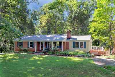 Earlysville Single Family Home For Sale: 641 Reas Ford Rd